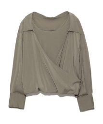 emmi atelier/【emmi atelier】バルーンレイヤードシャツ/500494661