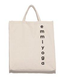 emmi yoga/【TVドラマ着用】【emmi yoga】キャンバスロゴトート/500495073