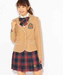 PINK-latte/【卒服】エンブレム付きパイピングジャケット/500507764