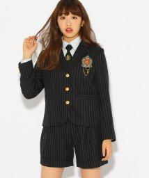 PINK-latte/【卒服】エンブレム付きテーラードジャケット/500508989