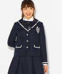 PINK-latte/【卒服】エンブレム付きセーラー風ジャケット/500508990