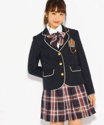 PINK-latte/【卒服】リボンタイ付きプリーツスカート/500508994