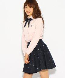 PINK-latte/【卒服】リボンタイ付きフレアスカート/500508995