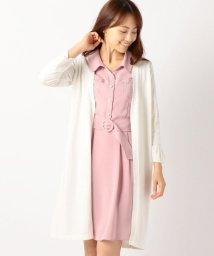 MISCH MASCH/袖刺繍ロングカーディガン/500419395