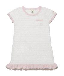 gelato pique Kids&Baby/'スムーズィー'ファインボーダー kids ドレス/500500961