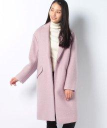 ROPE' mademoiselle/シャギーモヘヤチェスターコート/500511631