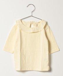 LAGOM/フリル衿7分袖カットソー/500488886