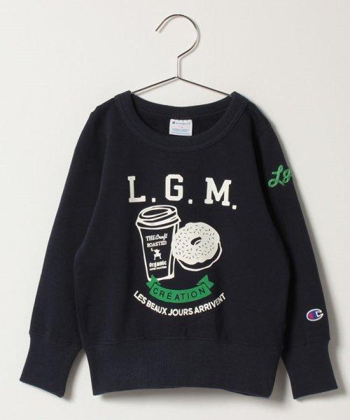 LAGOM(ラーゴム)/【Champion別注】ドーナツプリントSWEAT/1205892881411
