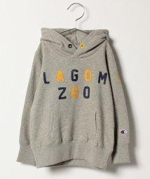 LAGOM/【Champion別注】プリントSWEATパーカー/500489640