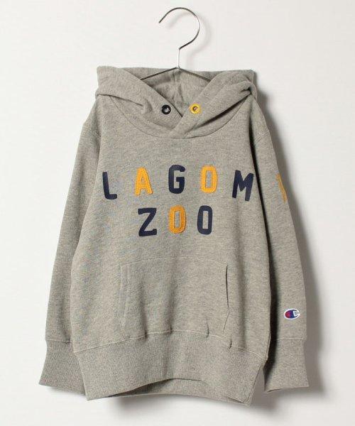 LAGOM(ラーゴム)/【Champion別注】プリントSWEATパーカー/1205894881411