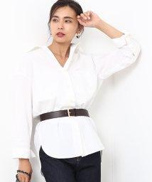 ROPE' mademoiselle/ルーズオーバーレギュラーシャツ/500509958