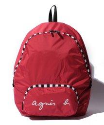 agnes b. Voyage/HS09‐04   ポケッタブル バックパック/500483956