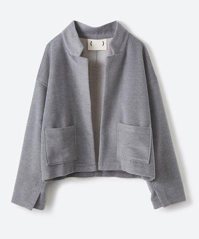 【haco!(ハコ)】パーカー感覚で羽織れる ふんわり起毛のショートジャケット