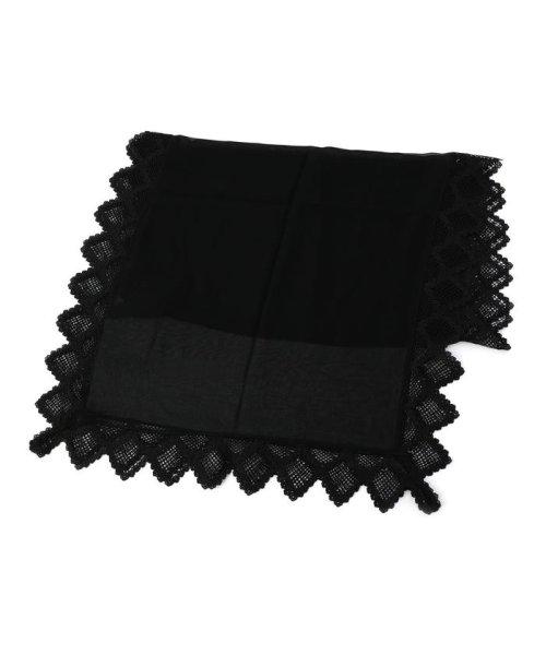 SHIPS WOMEN(シップス ウィメン)/little black:レースストール/318230139