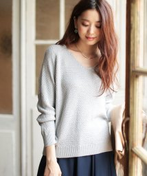 NATURAL BEAUTY BASIC/【MAGASEEK/d fashion限定】ラメカノコニット/500516387