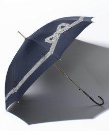 pink trick/雨晴兼用 長傘 (UVカット&軽量) ジャンプ傘 テープリボン /500486526
