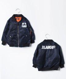 XLARGE KIDS/バックロゴ MA‐1/500491727