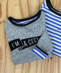 coen/【coen キッズ / ジュニア】リバーシブルロングTシャツ/500507695