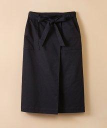 haco!/【mer1月号掲載】パッと着るだけで女らしくてかっこいい ラップ風ストレッチスカート by que made me/500512882