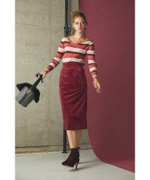 PROPORTION BODY DRESSING/《BALNCHIC》カラーベロアスカート/500517244