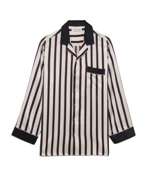 GELATO PIQUE HOMME(GELATO PIQUE HOMME)/【Joel Robuchon & gelato pique】'Homme'シルクパジャマシャツ/PMFT174966