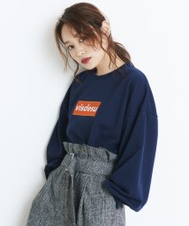 ViS/【ViS×高橋愛】ロゴ裏毛プルオーバー/500519492