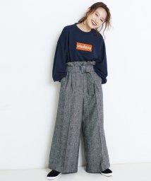 ViS/【ViS×高橋愛】グレンチェックパンツ/500519494