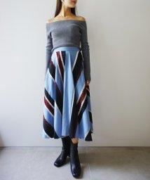 FRAY I.D/モールストライプスカート/500521993