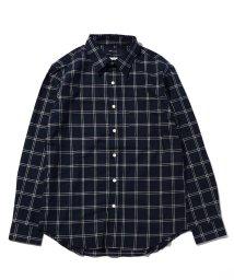 SHIPS JET BLUE/SHIPS JET BLUE: ストレッチ レギュラーワイヤーカラー チェックシャツ/500522066