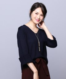 JIYU-KU /【ネックレス付き】ウールブレンド ニット/500523910