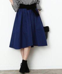 ViS/起毛フィッシュテールギャザースカート/500525021