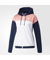 adidas/アディダス/レディス/W 定番 カラーブロック フード付き ジャージ ジャケット/500525329