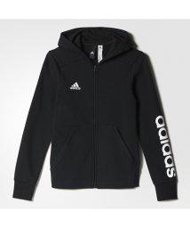 adidas/アディダス/キッズ/GIRLS ESS リニアロゴ スウェット フルジップパーカー (裏起毛)/500525495