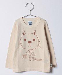 RUGGEDWORKS/お手伝い猫 ベビーロングTee/500491964