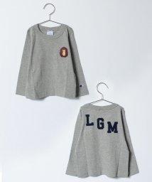LAGOM/【Champion別注】ハリネズミ刺繍長袖Tシャツ/500492622