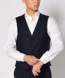 SHIPS MEN/SD: 『LORO PIANA』【SOFT TOUCH】ウィンドウペン ベスト/500530568