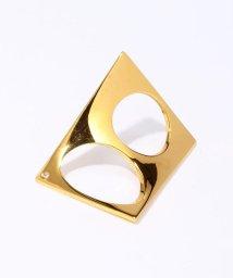 TOMORROWLAND GOODS/Xr w/1 diamond ダブルリング/500532213