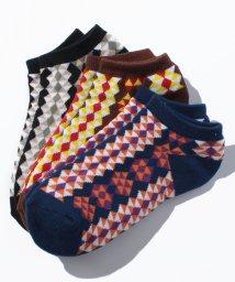 BENETTON (women)/レディーストライバル柄Sソックス・靴下/500511683