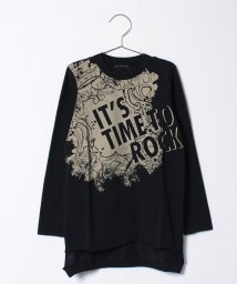 SISLEY YOUNG/ロックプリントロングTシャツ・カットソー/500511725