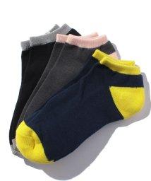 BENETTON (mens)/メンズカラー切り替えSソックス・靴下/500511787