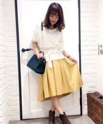 Noela/カラータックテールスカート/500532088