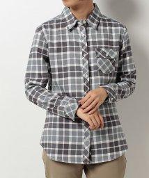 Alpine DESIGN/アルパインデザイン/レディス/長袖チェックシャツ/500533490