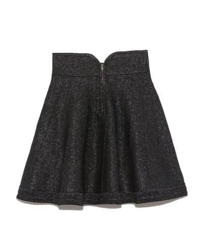 【Lily Brown(リリーブラウン)】ラメニットスカート