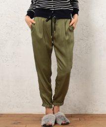 green label relaxing/◆CF LYチノ ドロストパンツ2/001776175