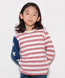KRIFF MAYER(Kids)/星条旗プリントボーダーT(110〜130cm)/500515406