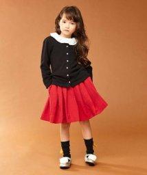 petit main/フロントリボンプリーツスカート/500523203