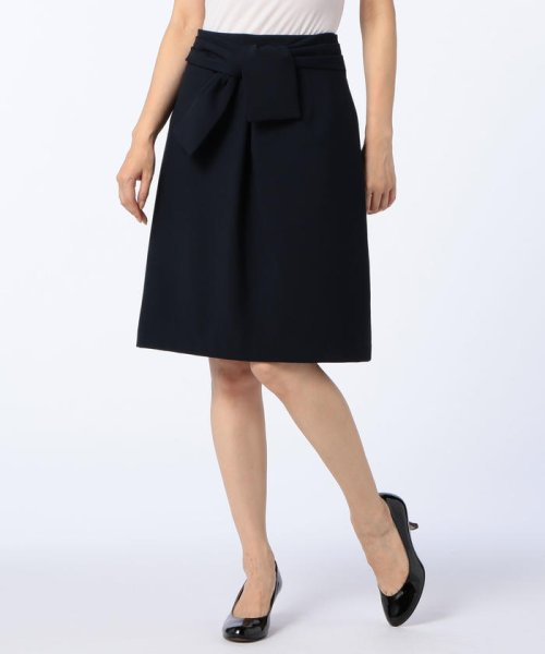 NOLLEY'S(ノーリーズ)/Wクロスリボンスカート/7-0035-5-06-008