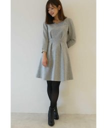 PROPORTION BODY DRESSING/ウールブークレーパール付きワンピース/500535127