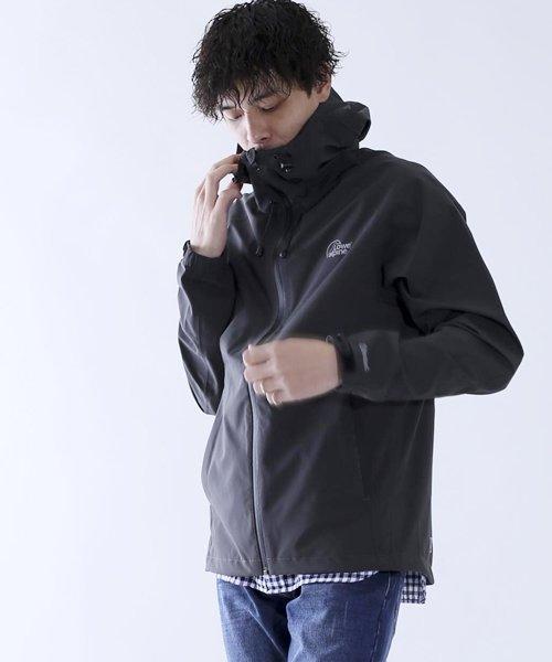 ジョルダーノ 【LAS】ストレッチフードジャケット 画像1