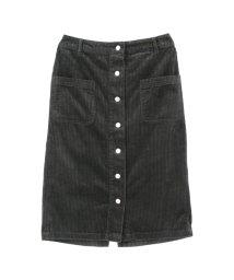 titivate/フロント釦コーデュロイタイトスカート/500543256